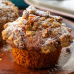 Pumpkin Pecan Crumble Muffin