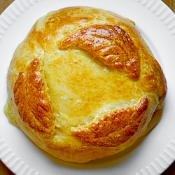 Brie Bread Appetizer made with PIllsbury dough