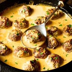IKEA meatballs in sauce, kottbular, swedish meatballs
