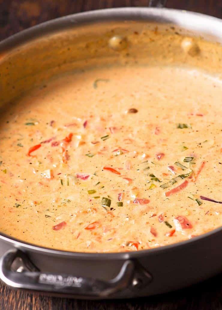 Chicken Pasta in White Wine Sauce