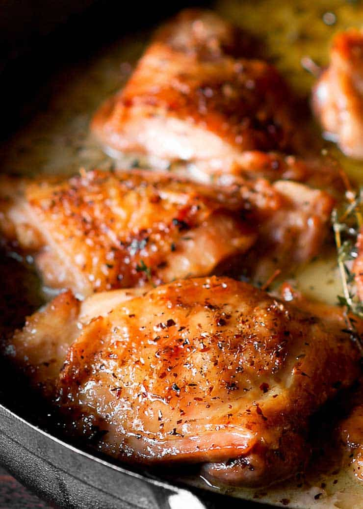 herb roasted chicken thighs