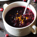 Grand Marnier Cranberry Sauce Holiday Recipe