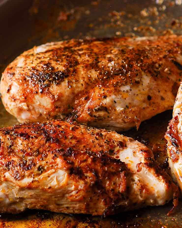 How to sear boneless chicken breasts