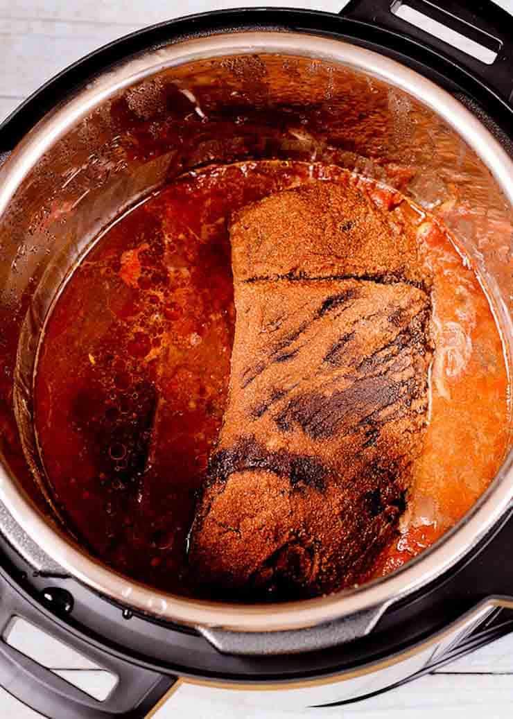 Instant Pot Barbecue Beef Brisket