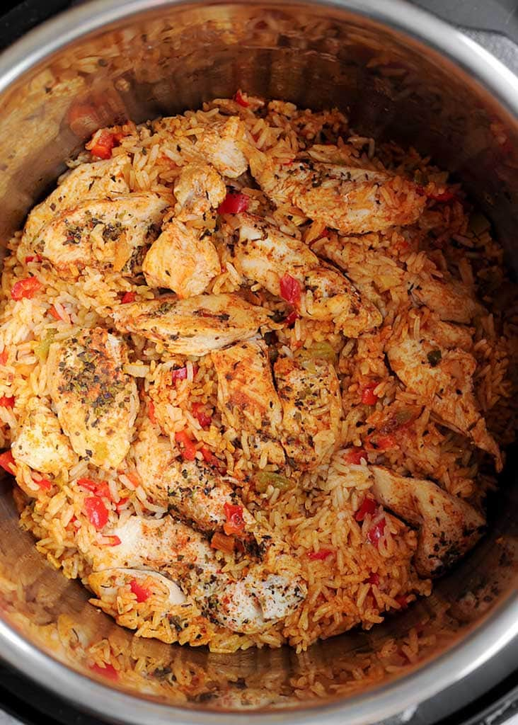 Cajun Instant Pot Chicken And Rice What S In The Pan