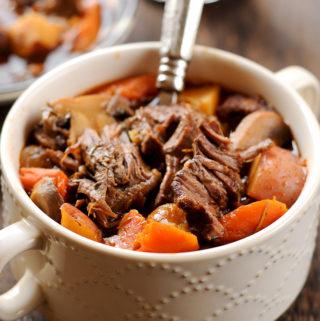 Instant Pot Irish Beer Beef Stew
