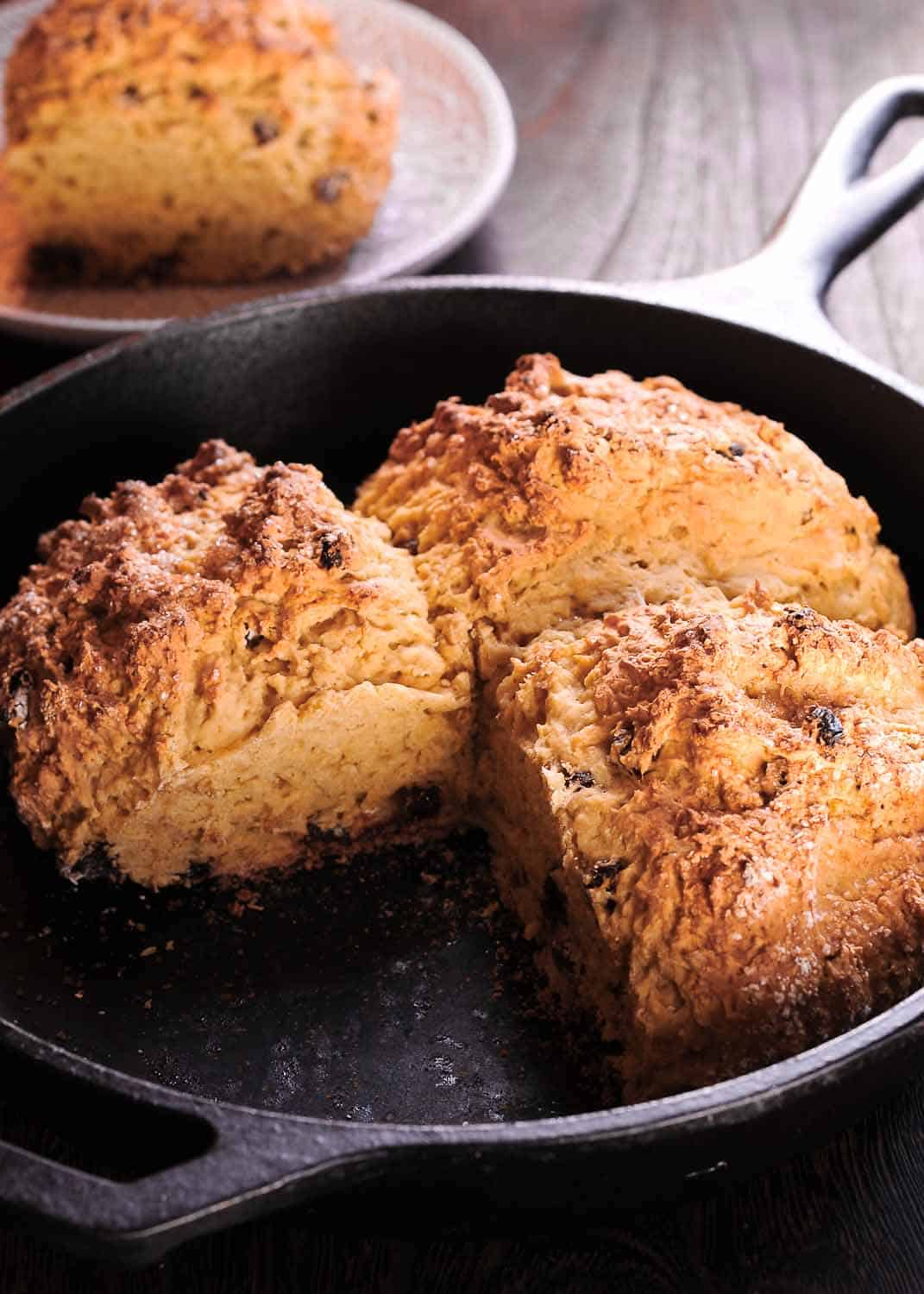 Irish Soda Bread with Whiskey Raisins