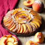 Healthy Peach and Brown Sugar Cake