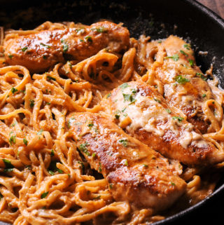 New Orleans Chicken Pasta
