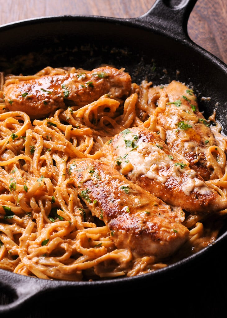 New Orleans Chicken Pasta