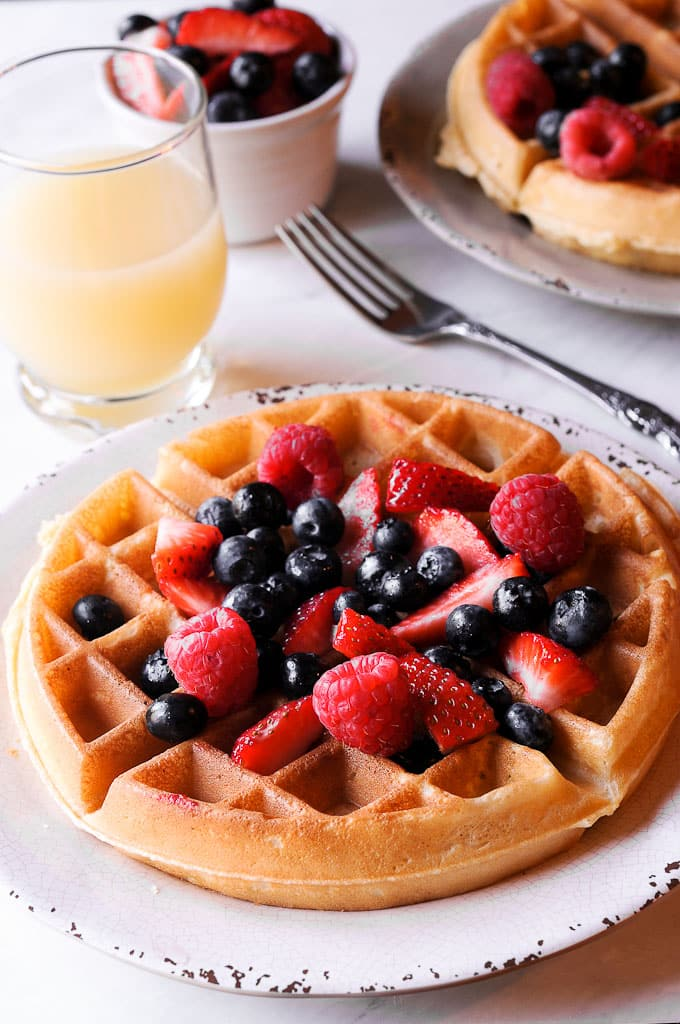 Waffle from scratch