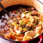 Best Cabbage Beef Soup