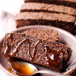 Gluten Free Quinoa and Chia Bread
