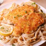 Lemon Garlic Chicken Pasta
