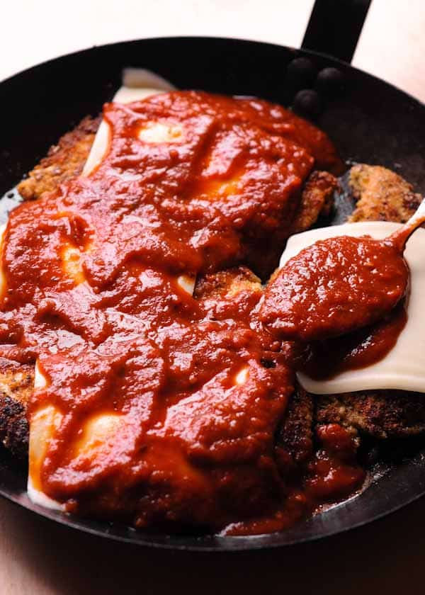 Authentic Italian Chicken Parmigiana What S In The Pan