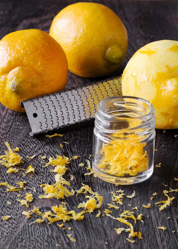 how to get zest from a lemon