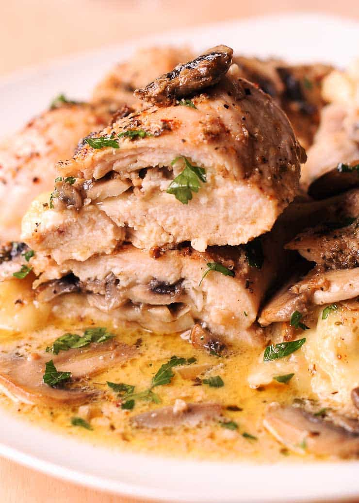 Stuffed Chicken Provolone