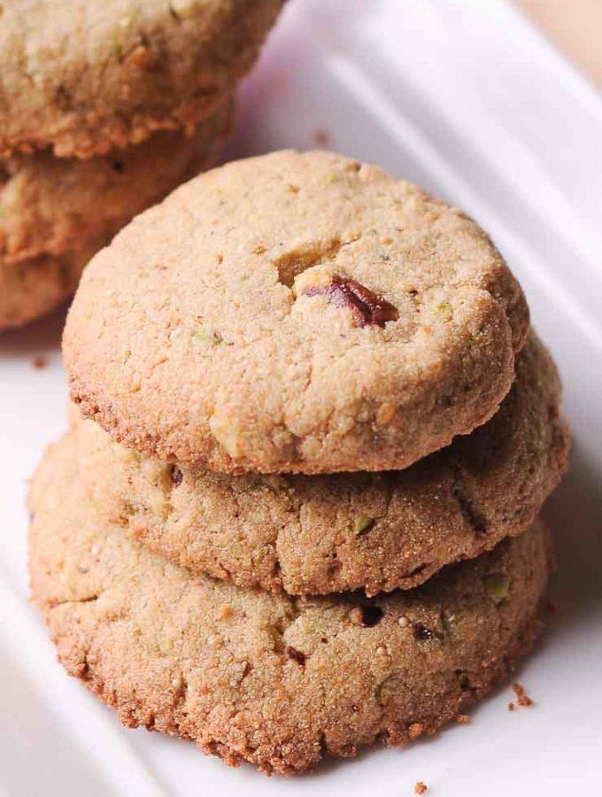 Amaranth Shortbread Cookies