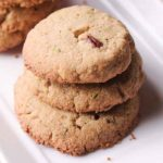 Amaranth Shortbread Cookies