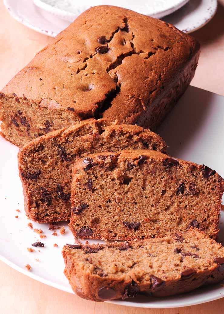 Gluten free chocolate chip bread