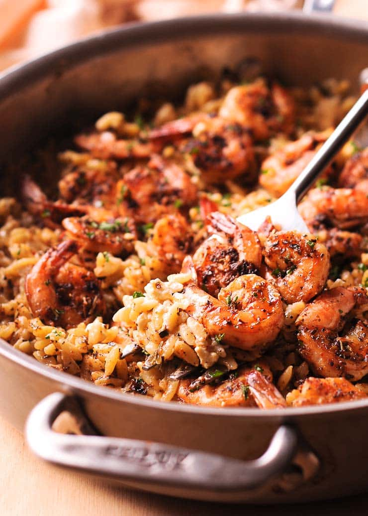 Shrimp Orzo