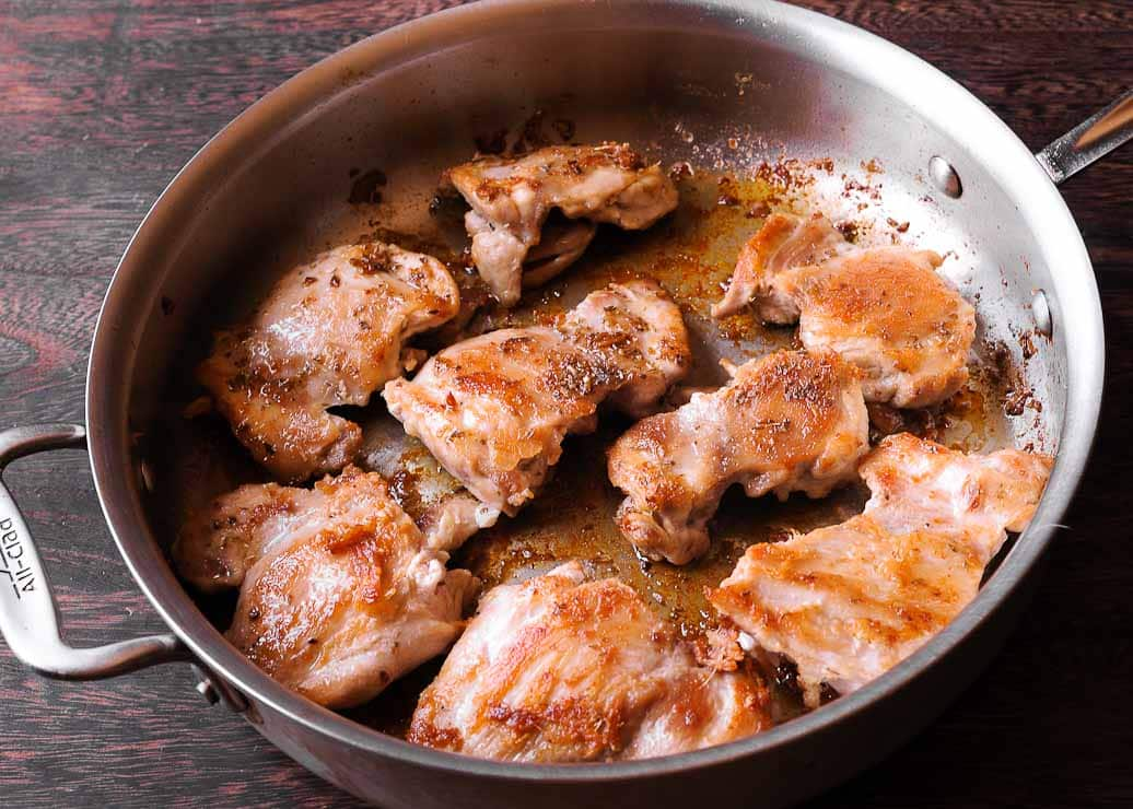Chicken Thighs in Sun-Dried Tomato Sauce