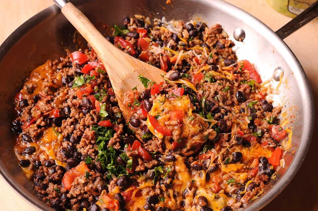 Beef Burrito mixture