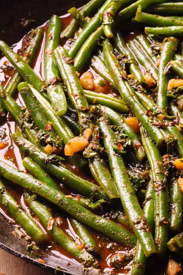 how to cook green beans to perfection