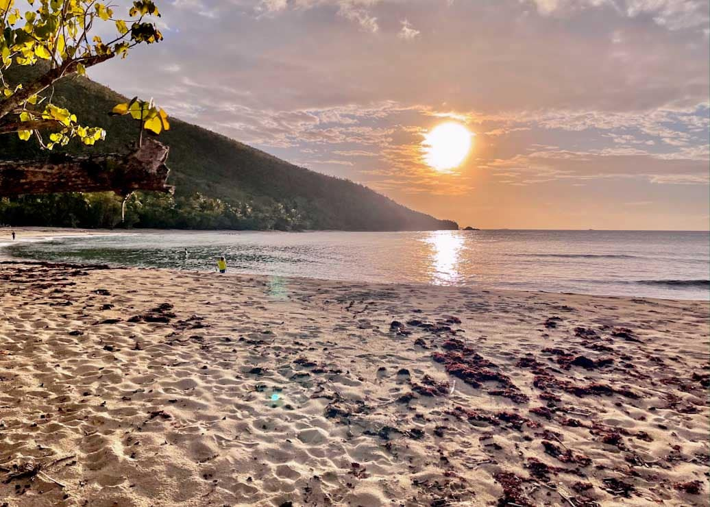 Neltjeberg Beach of US Virgin Islands