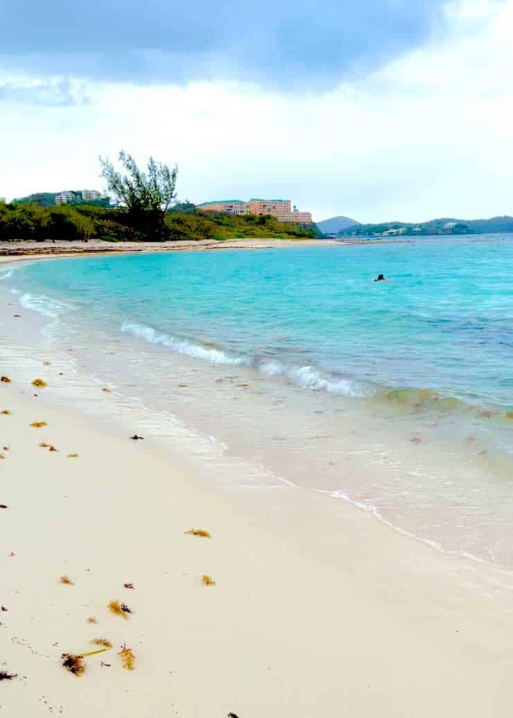 Lindquist Beach of St. Thomas